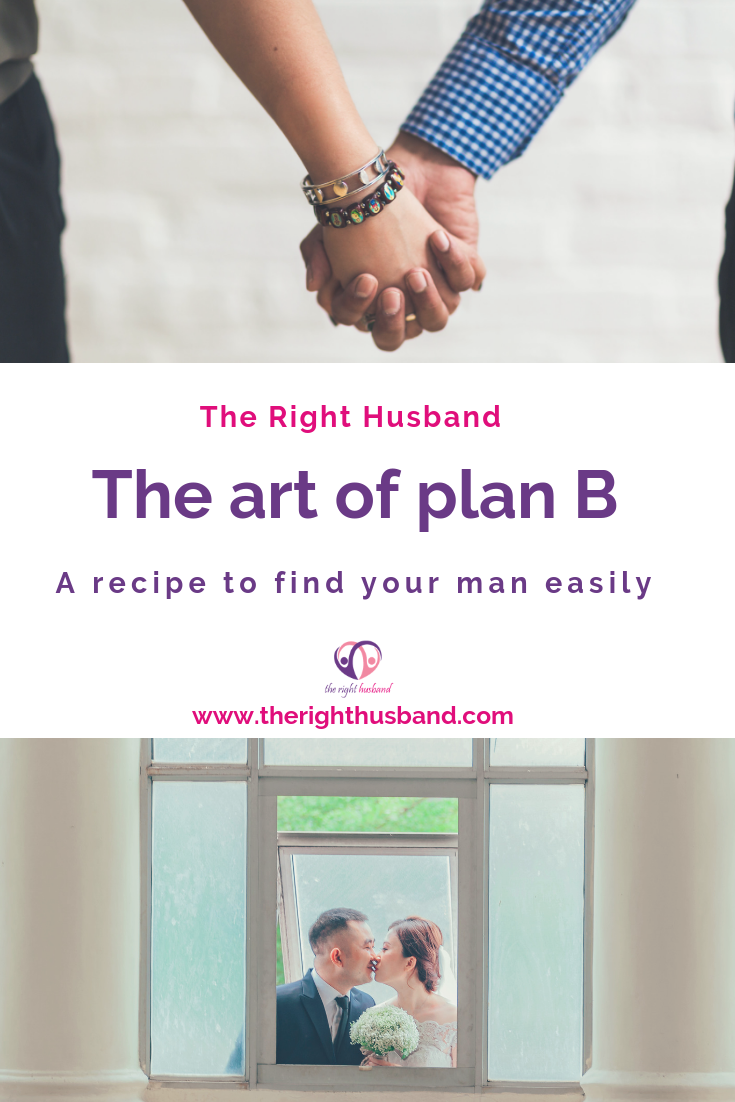 The art of plan B to find the man of your dream 1