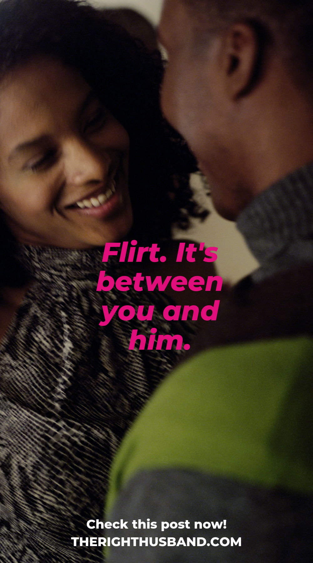 How to flirt like crazy with a guy without being obvious 3